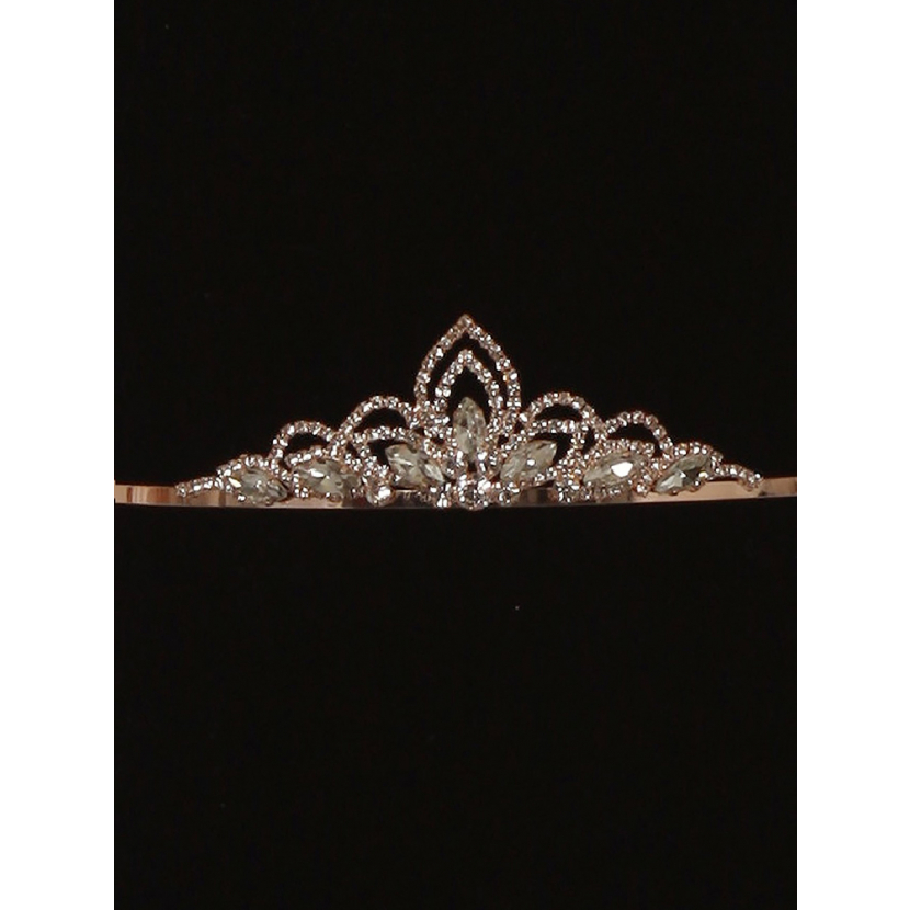 Cinderella Couture Girls Multi Color Crystal Adorned Flower Girl Pageant Tiara