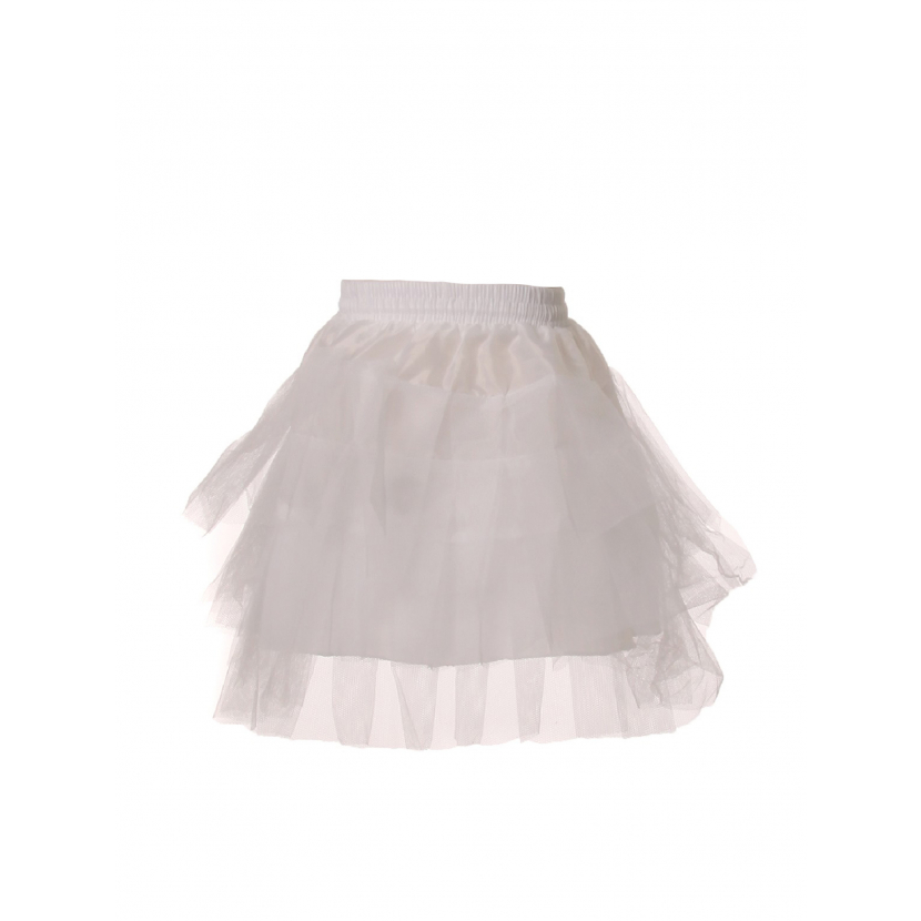 Cinderella Couture Girls White 14 Inches Short Petticoat One Size